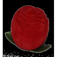 """1201 Футляр """"роза"""" красный универсальная прорезь"""