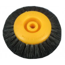 Щётка UTG желтая волосяная на пластик