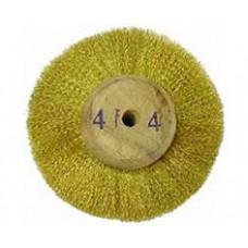 Щётка латунная на деревянной основе 85 х 20 мм