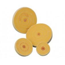 Круг муслиновый  жёлтый 6х60