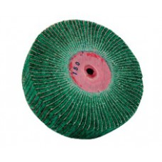 Щётка абразивная зелёная Р180 ширина 15мм