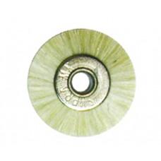 Крацовка радиальная без держателя белая диаметр 19 мм