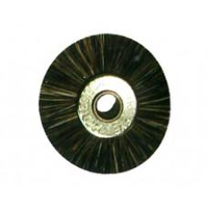 Крацовка радиальная без держателя серая диаметр 19 мм