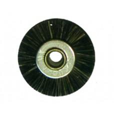 Крацовка радиальная без держателя коричневая диаметр 19 мм