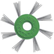 Матовка на двигатель зелёная диаметр 80мм прут диаметр 0,5мм