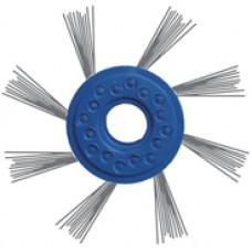 Матовка на двигатель  синяя диаметр 80мм прут диаметр 0,4мм