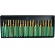 Набор алмазных боров диаметр хвостовика 2,3 мм 30 шт.