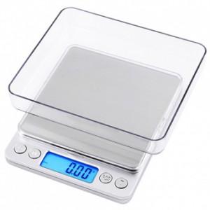 Весы ювелирные Wimpex WX-1208, 2000гр (0.1г) +чаша