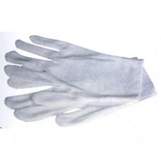 Перчатки белые (большие)