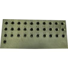 Фильера 3,0-8,0 мм