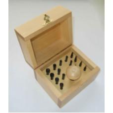 Обжимки для кастов (1-8 мм, 15 шт.)