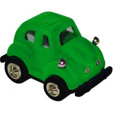"""1401 Футляр """"машинка"""" зеленый универсальная прорезь"""