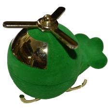"""1408 Футляр """"вертолёт"""" зеленый универсальная прорезь"""