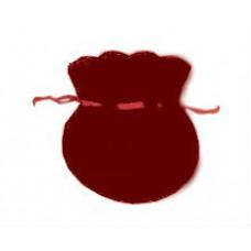 1805-2 Мешок бордовый 6х7см